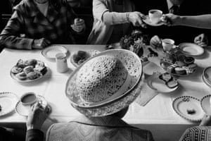 Anniversary tea, Boulderclough Methodist Chapel, Calderdale