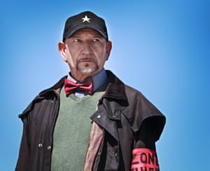 'I'm the wizard' ... Ben Kingsley in Robot Overlords