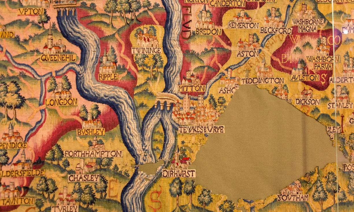 Bildteppich Des 11. Jahrhundert