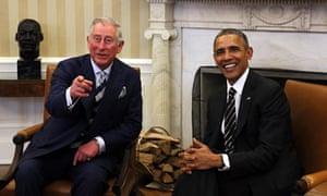 Prince Charles an Obama