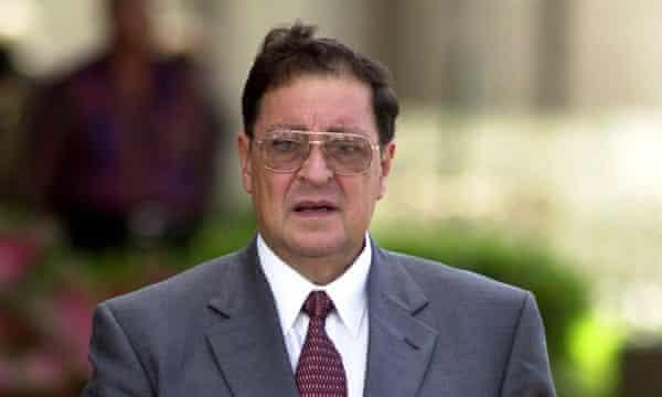 Carlos Eugenio Vides Casanova in 2000.