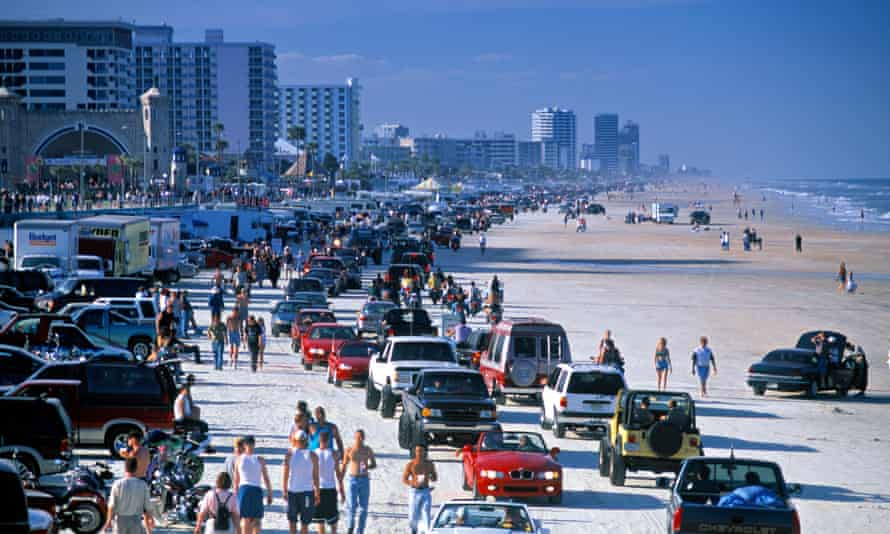 Daytona Beach in Florida, where alleged war criminals are facing more aggressive federal prosecutions.