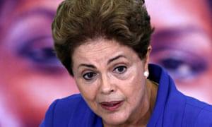 Brazil's President Dilma Rousseff has seen her popularity plummet.