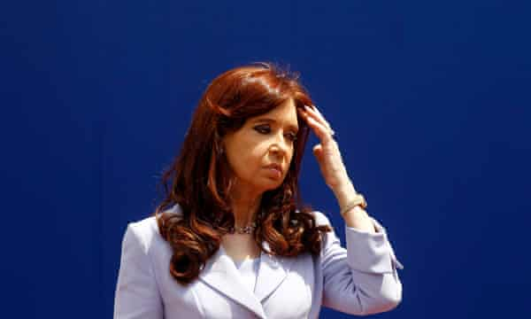 Argentina's President Cristina Fernández de Kirchner.