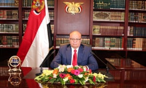 President Hadi fled with his government to Aden last month.