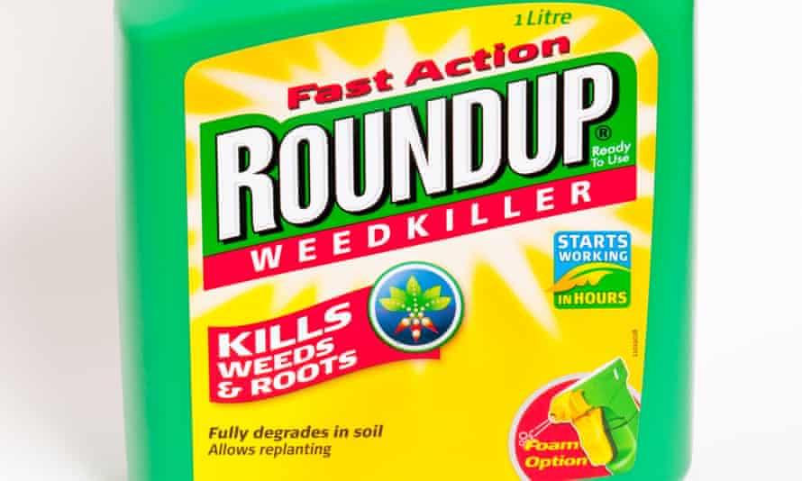 Roundup weedkiller.