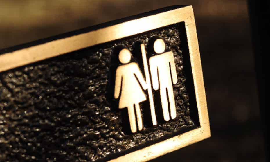 bathroom sign male female