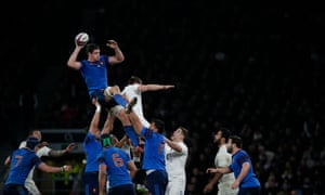 France win a lineout