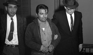 Perry Edward Smith was  charged with first degree murder in the slaying of four members of the Herbert Clutter family at their farmhouse in Kansas. The Clutter murders inspired Truman Capote to write In Cold Blood.