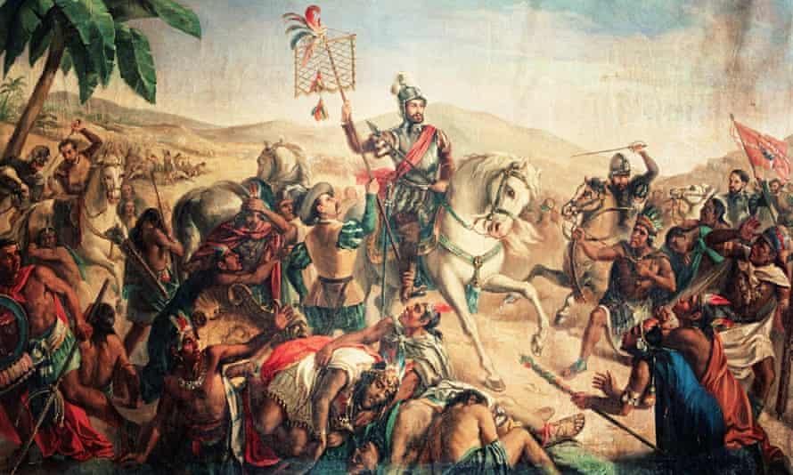 The Battle of Otumba in 1520