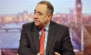 Alex Salmond on the Andrew Marr Show on Sunday.