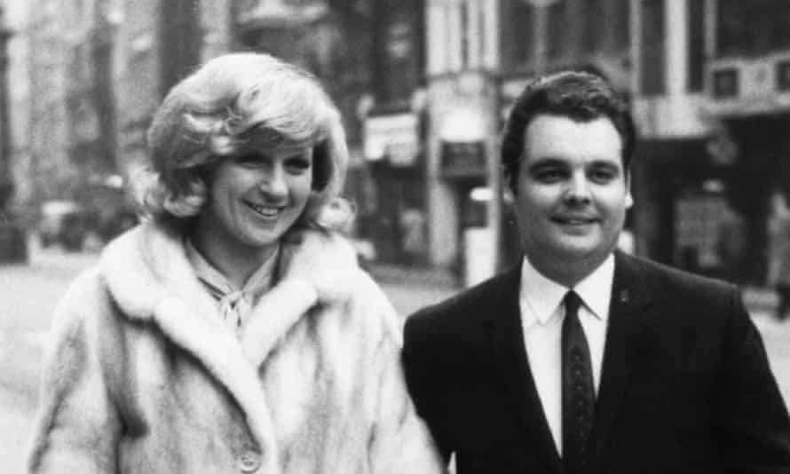 Jackie Trent with her first husband and writing partner, Tony Hatch.