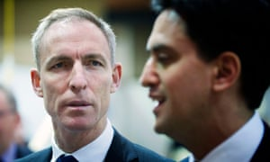 Jim Murphy, the leader of Scottish Labour, with Ed Miliband, the Labour leader.