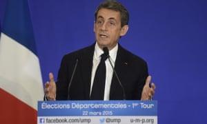 Nicolas Sarkozy UMP France elections
