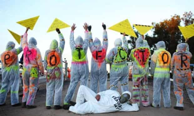 The fight continues: Frackman.