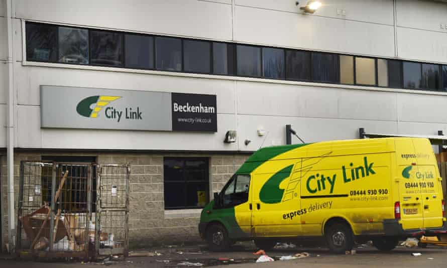 City Link depot workers