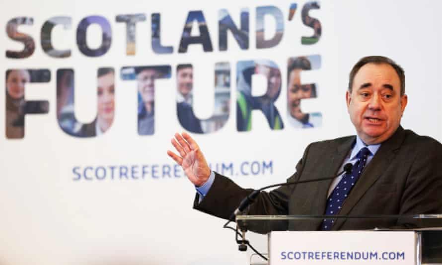 Alex Salmond white paper Scotland's Future