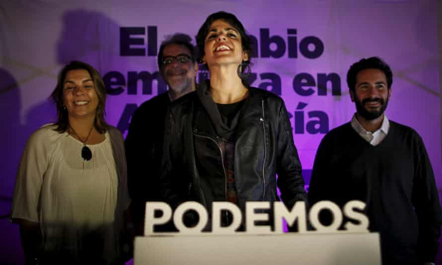 Podemos Teresa Rodriguez elections