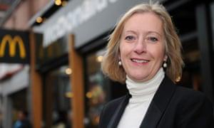 Jill McDonald, former head of McDonald's UK, is taking over at Halfords.