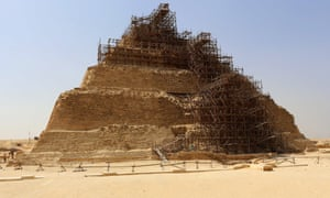 The pyramid of Zoser, erected in one of the world's first purpose-built cities, is the oldest large-scale stone monument still standing.