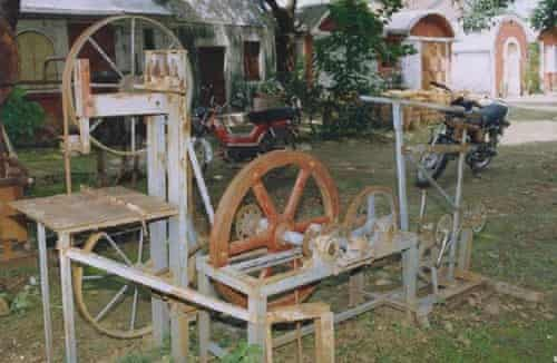 Human powered flywheel motor