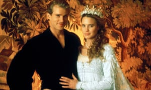 Cary Elwes and Robin Wright in The Princess Bride.