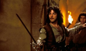 Mandy Patinkin with André the Giant in The Princess Bride.