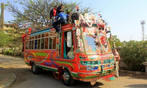 The Super Savari tour is the first of its kind in the city of Karachi.