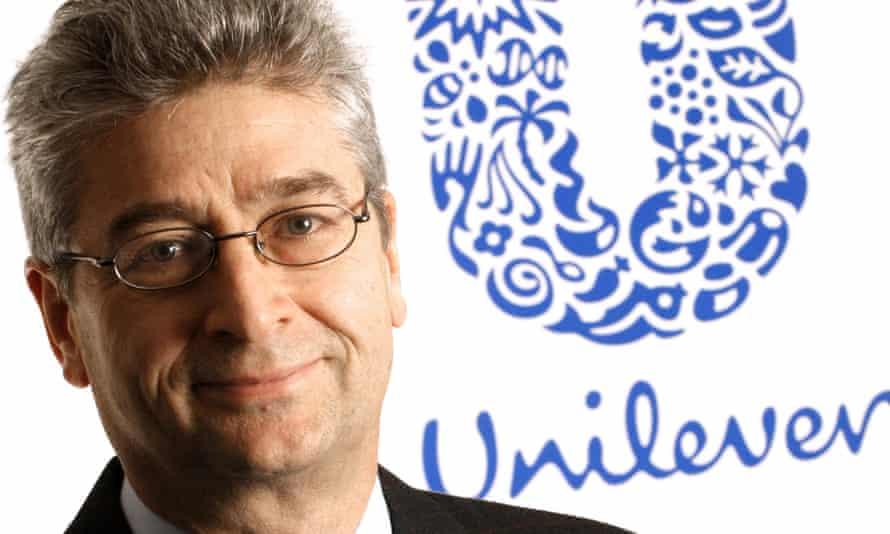Patrick Cescau was fa ormer chief executive at Unilever