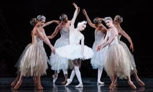 Evgenia Obraztsova as Odette in Swan Lake by the Royal Ballet.