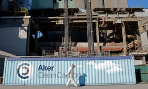 CCS ( Carbon capture) project in Norway : Aker Clean Carbon@Arthur Neslen for The Guardian