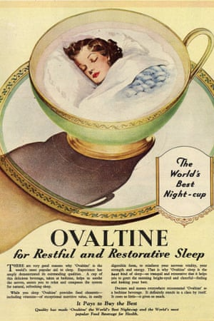 A 1951 ad for Ovaltine, 'the world's best night-cup'.