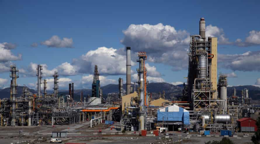 The Mongstad oil and gas refinery