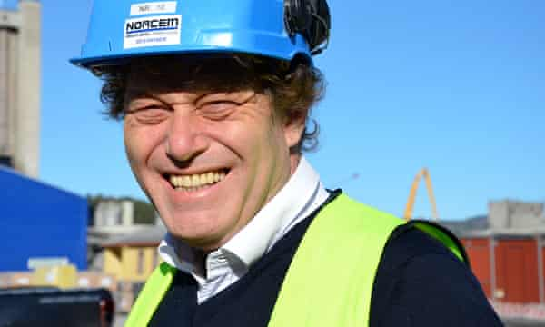 CCS ( Carbon capture) project in Norway : Frederic Hauge