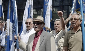 Greeks protest over second world war reparations