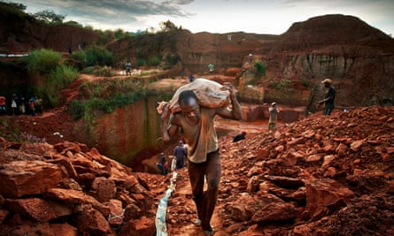 Angolan miner