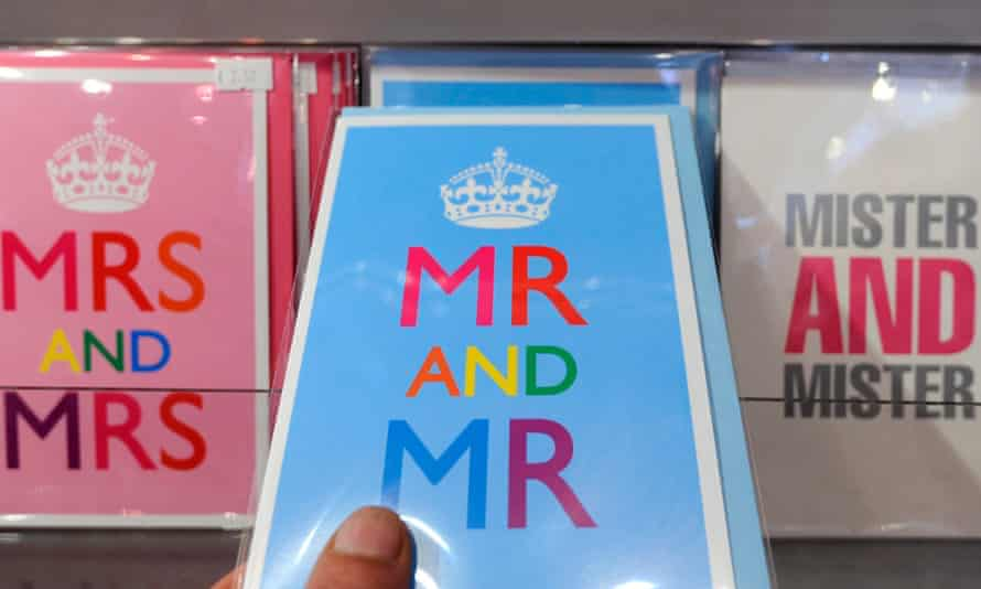 Mrs and Mrs and Mr and Mr cards