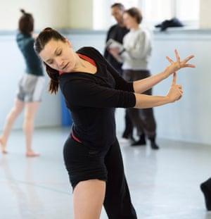 Bayadere - The Ninth Life: rehearsals