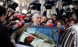 Luis Barcenas Spain former treasurer corruption claims