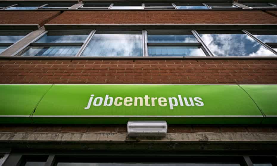 A jobcentre in Rugby