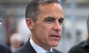 Bank of England governor Mark Carney has warned of the need to be 'vigilant against the risk that low inflation slips into a spiral of falling prices.