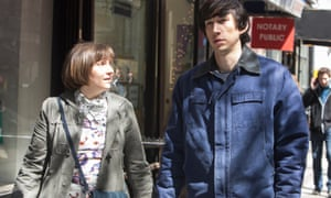 Lena Dunham and Adam Driver in HBO's Girls