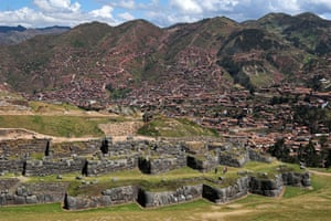 The Sacsayhuaman Inca site above the city of Cusco.