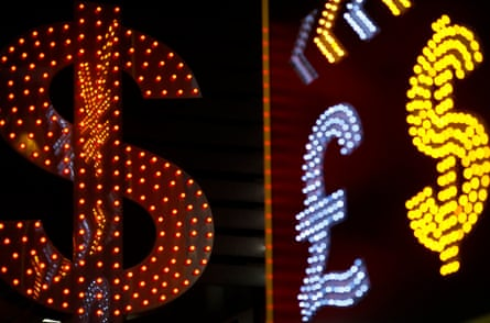 currency symbols in lights