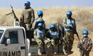 UN peacekeepers Darfur