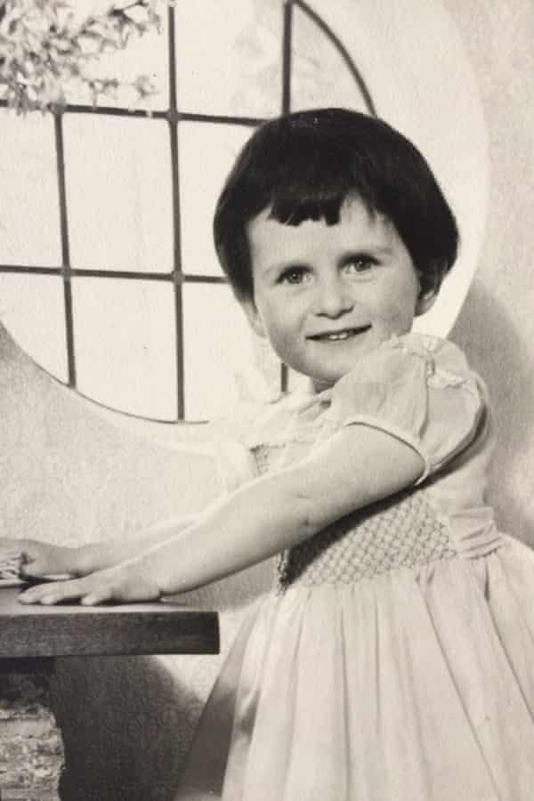 Catherine Chanter as a young child.