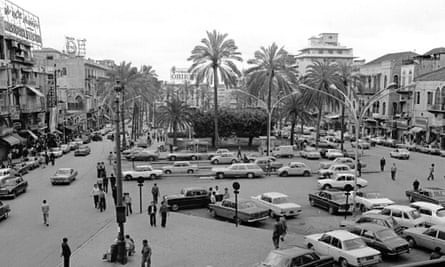 Downtown Beirut in the early 1970s.