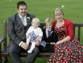 Hayley Earl and family