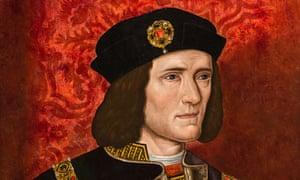 Richard III … he's no Olly Murs.