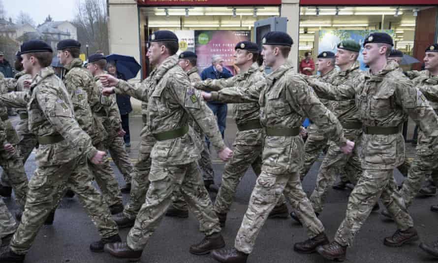 A Royal Logistic Corps regiment.